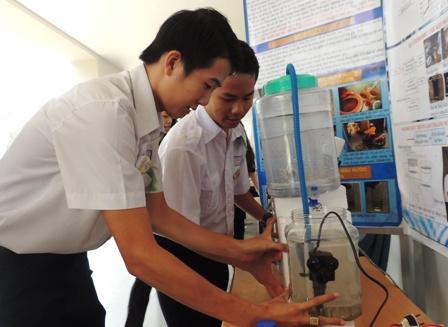 40 đề tài vào chung kết cuộc thi Khoa học kỹ thuật dành cho
